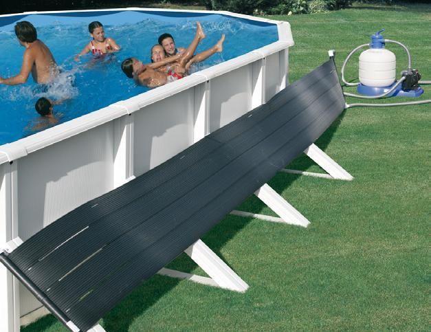 Calentador solar de piscina for Calentar agua piscina casero