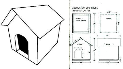 Como construir una casa para perros - Como hacer una casa para perro grande ...