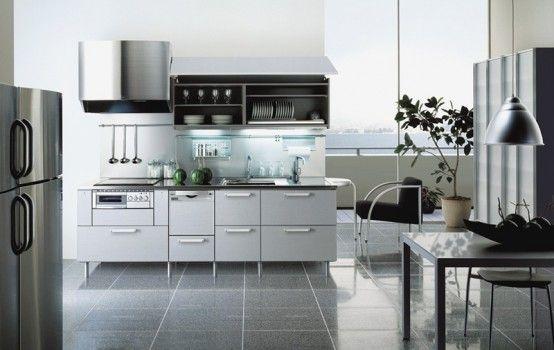 Cocinas italianas modernas - Cocinas amuebladas modernas ...