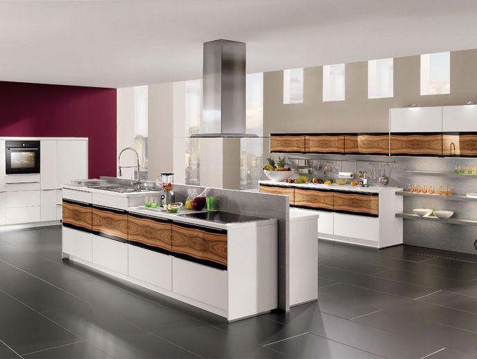 Cocinas modernas con colores