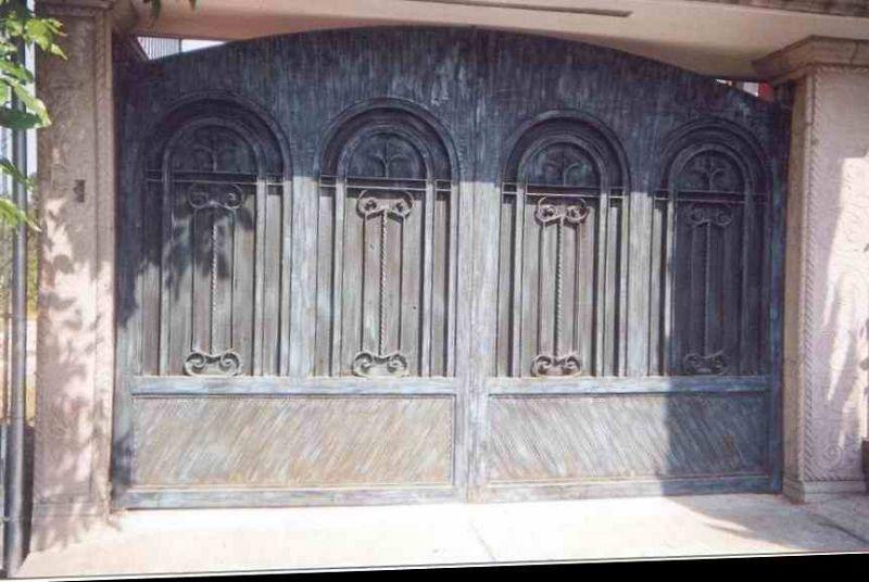 Algunas fotos de puertas de forja - Puertas forja exterior ...