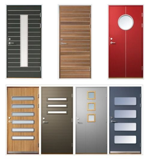 Fotos de puertas modernas fabricadas en madera - Puertas de madera economicas ...