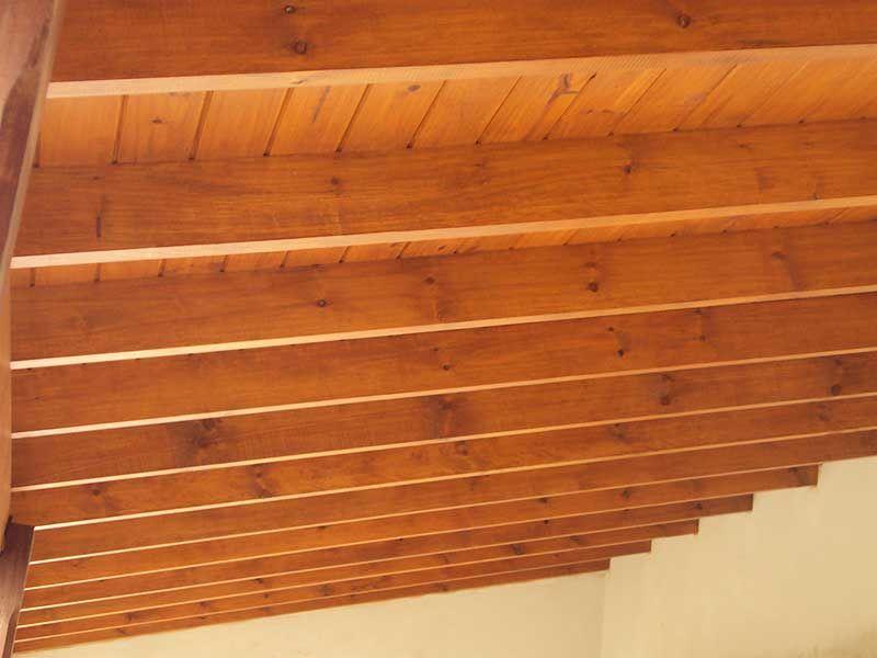 Algunas fotos de techos de madera - Madera para techos interiores ...