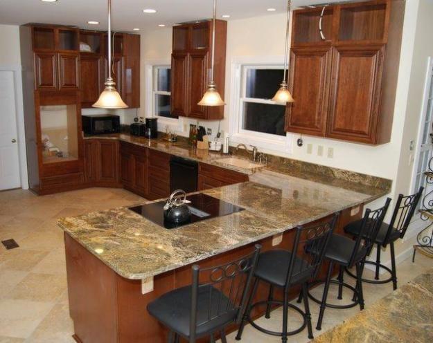 Topes de marmol para cocina for Idea muebles puebla