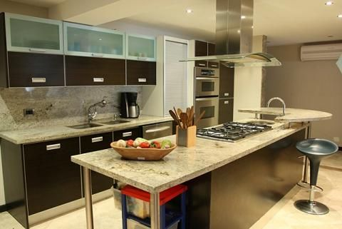 Los mejores topes de cocina for Cocinas modernas en cemento