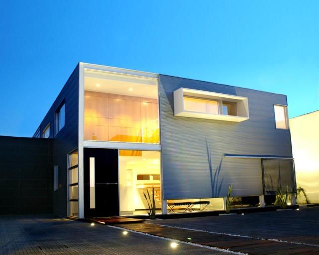 7 casas completamente minimalistas for Foto casa minimalista