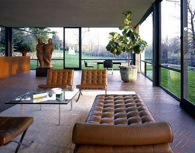 Casas dise adas por philip johnson for Casa moderno kl