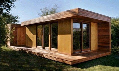 Dise o e instalacion de casas prefabricadas for Casa minimalista uy