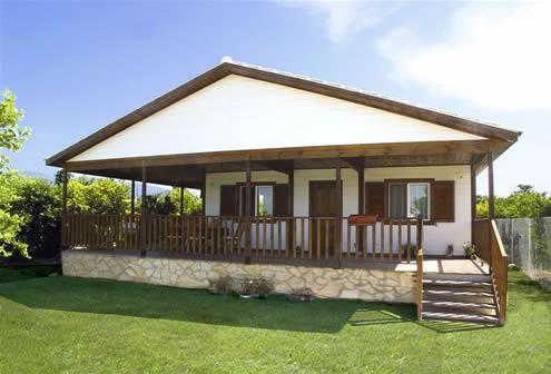 Dise o y construccion de casas de madera - Construcciones de casas de madera ...