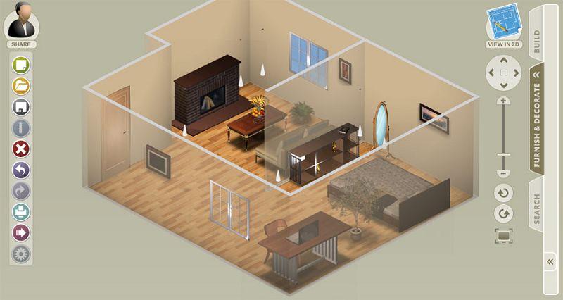 Recursos de decoraci n online for Programa para disenar interiores online