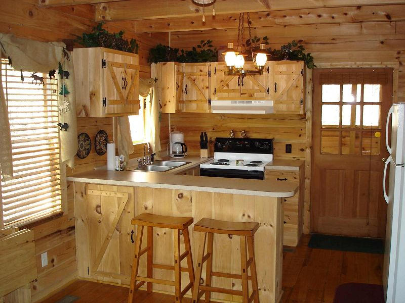 Como construir una cocina rustica