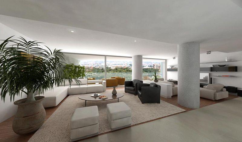Fotos interiores de un apartamento lujoso for Decoracion apartamentos modernos en bogota