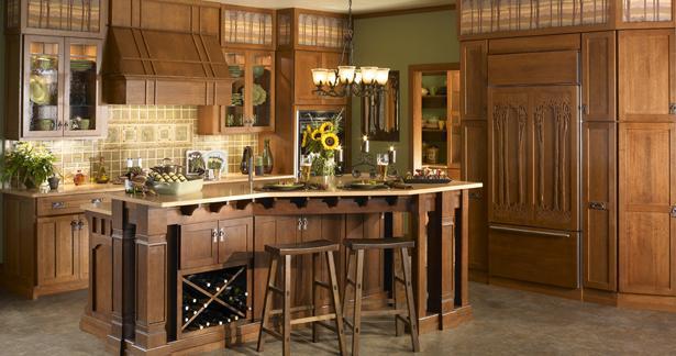 Diseño de cocinas con estilo rustico