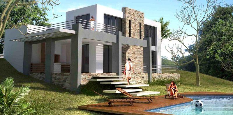 10 increibles casas dise adas con autodesk for Crear casas 3d