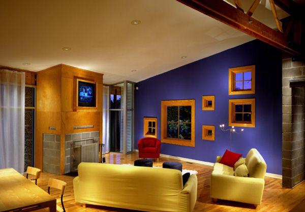 La mezcla de colores en la decoracion de interiores