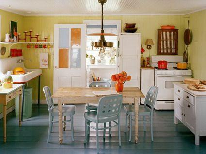 Espacio ideal para un comedor en la cocina