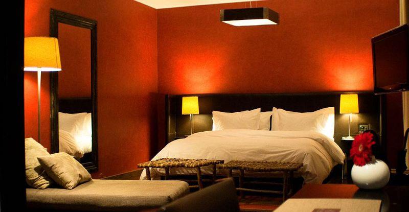 Fotos de decoracion interior en color rojo for Decoracion de interiores recamaras para adultos