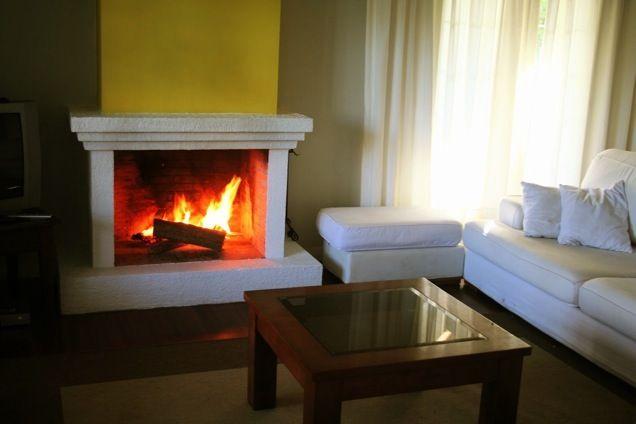 Como construir o instalar una chimenea en mi casa - Como colocar una chimenea de lena ...