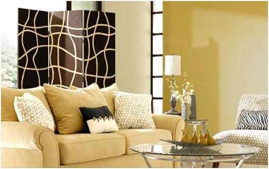 Espacios peque os con estilo minimalista - Combinar colores para salon ...