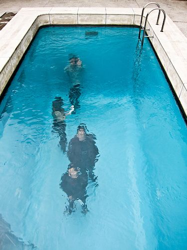 Una piscina falsa que parece muy real for Piletas para peces
