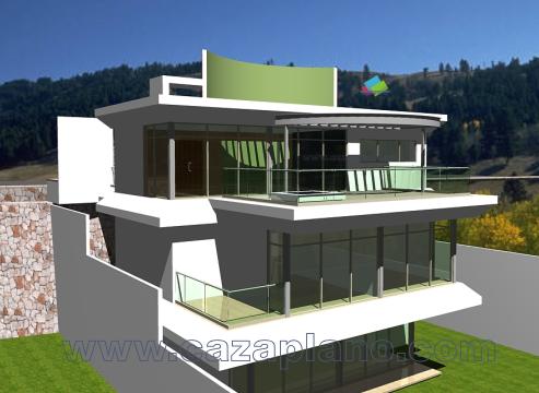 Planos arquitect nicos de casas y apartamentos for Plantas arquitectonicas de casas