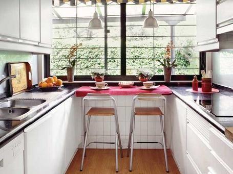 Como decorar cocinas alargadas Como decorar tu cocina