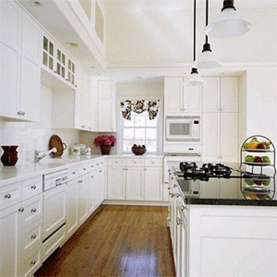 Usar el color blanco en mi cocina