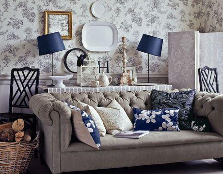 Especificaciones del estilo ingles en la decoracion de - Estilo ingles decoracion interiores ...
