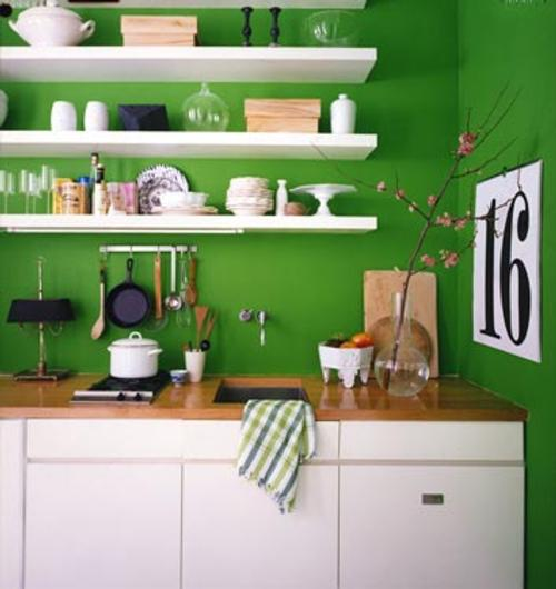 Estantes para cocina una decoraci n muy pr ctica - Estantes para cocina pequena ...