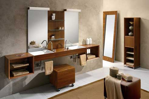 Qu accesorios elegir para el ba o for Disenos de espejos para habitacion