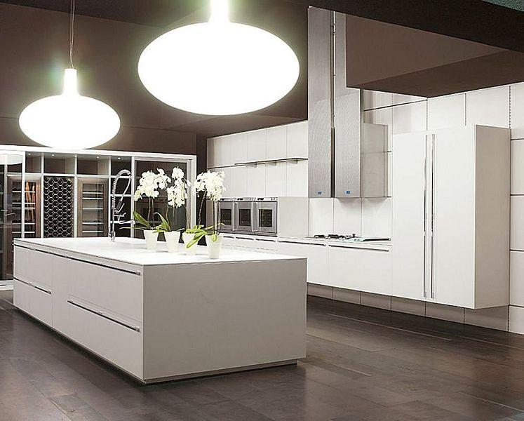 15 fotos de cocinas modernas para este nuevo a o for Casa moderna black walnut luxury vinyl plank