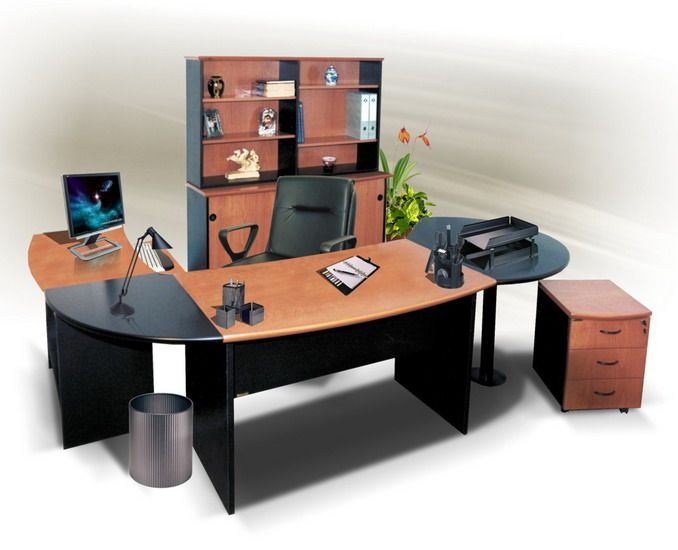 Top 20 oficinas elegantes for Imagenes de muebles de escritorio