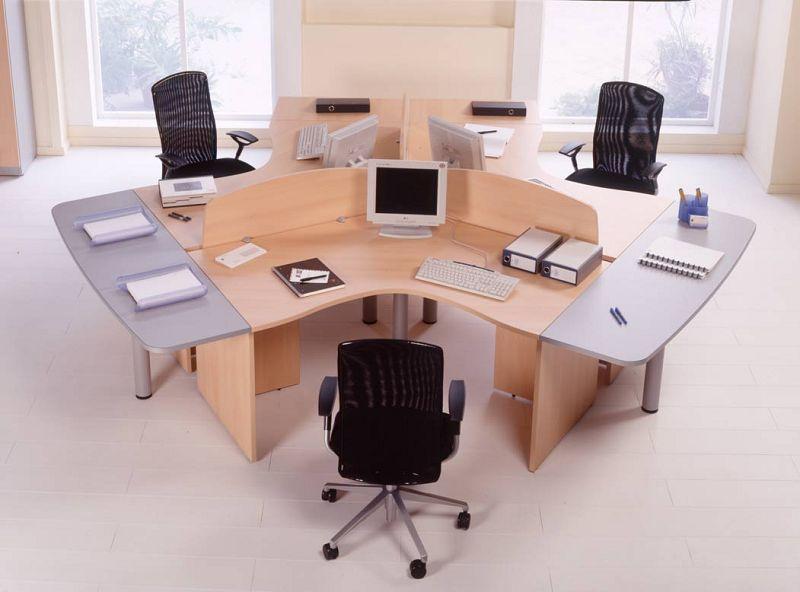 Top 20 oficinas elegantes for Muebles de oficina y sus medidas