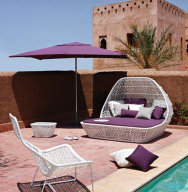 Accesorios para decorar terrazas sombrillas for Alcampo sombrillas terraza
