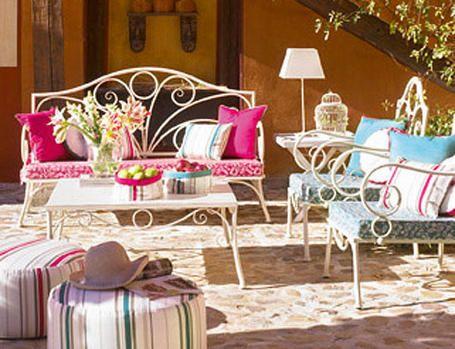 Accesorios para decorar terrazas - Muebles para la terraza ...