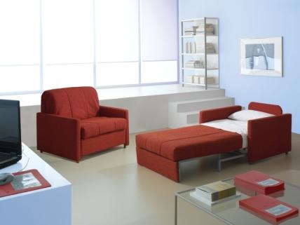 Sof cama una soluci n a las salas peque as for Sofas modernos para espacios pequenos