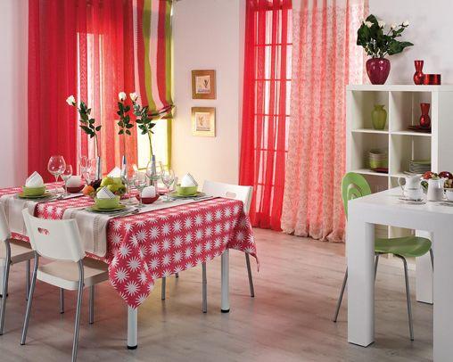 Textiles para decorar el comedor - Decorar el comedor ...