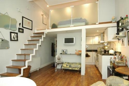 Dise o de espacios peque os y dise o arquitect nico for Diseno de interiores espacios reducidos