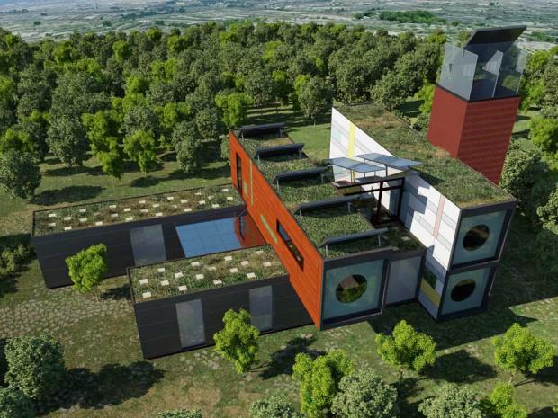 Casas del futuro for Materiales para la construccion de un vivero