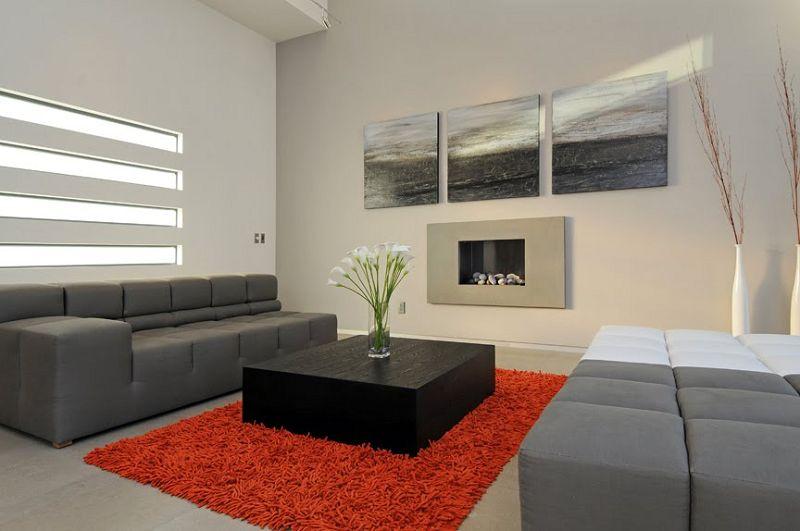 El cuadro ideal para cada ambiente de la casa for Decoracion salas minimalistas modernas