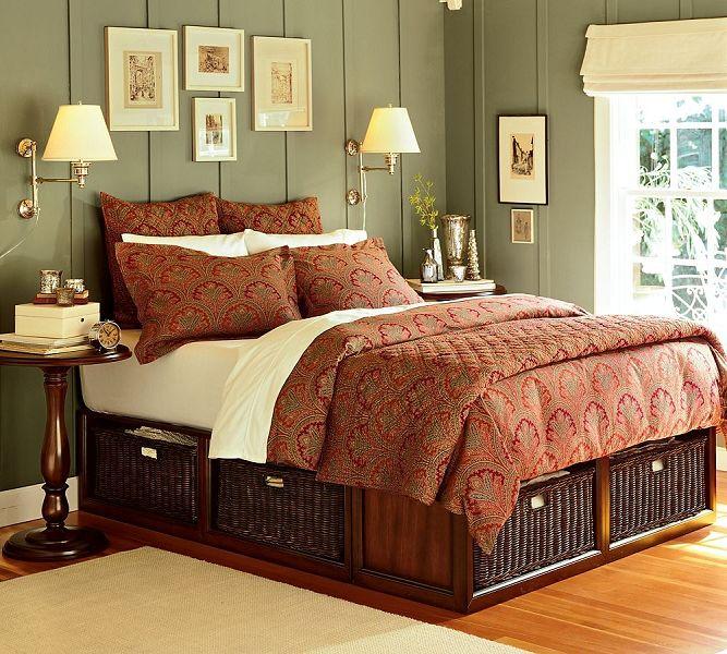 Ideas para aprovechar el espacio bajo cama