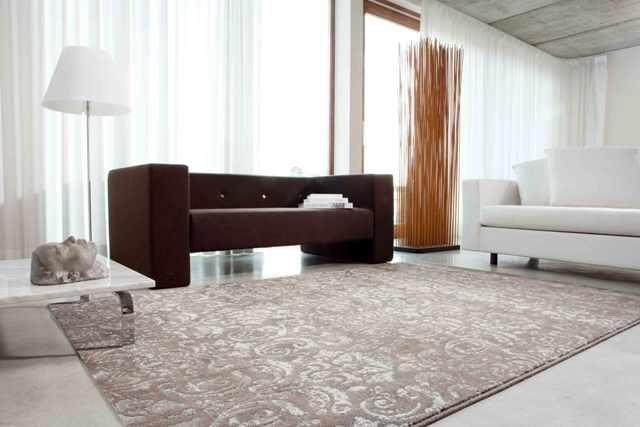 Como combinar alfombras - Como colocar alfombras ...