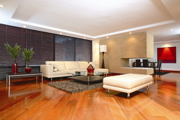 Decoraci n con pisos laminados de madera for Decoracion de pisos modernos