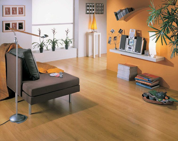 Decoracin con pisos laminados de madera