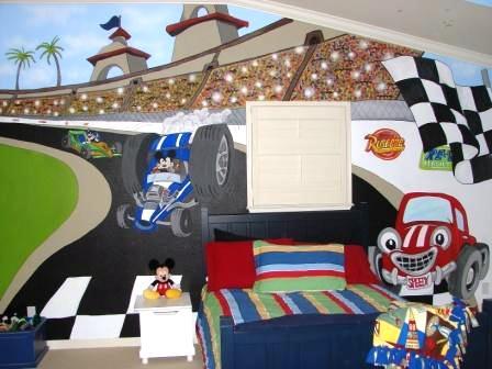 Dormitorios infantiles tem ticos - Dormitorios de cars ...