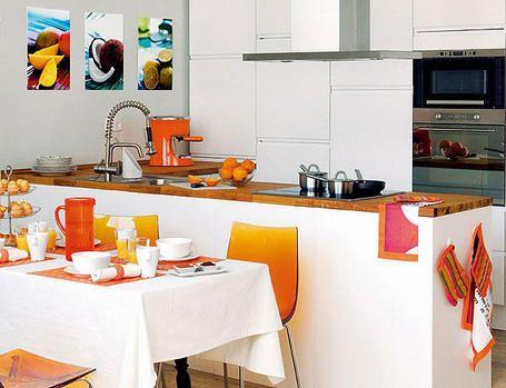 ideas para renovar la cocina. Black Bedroom Furniture Sets. Home Design Ideas