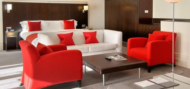 C mo combinar colores para decorar - Muebles color cerezo como pintar paredes ...