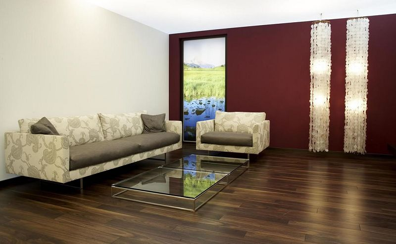 Decoraci n con pisos laminados de madera for Decoracion de pisos interiores modernos