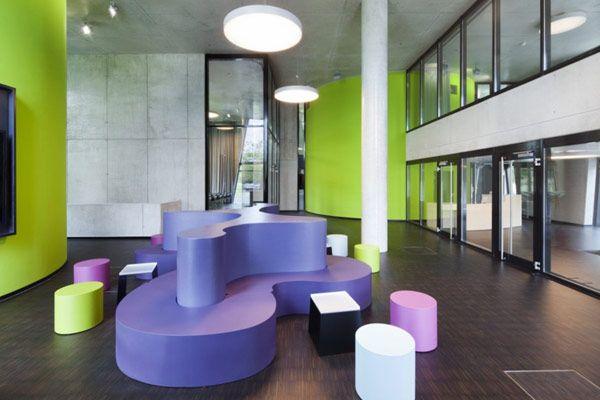 Edificio o a s e dise o de una biblioteca m dica for Arquitectura de interiores universidades