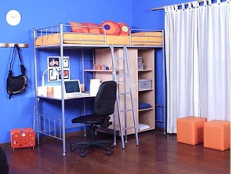 Habitaciones peque as for Escritorios para dormitorios